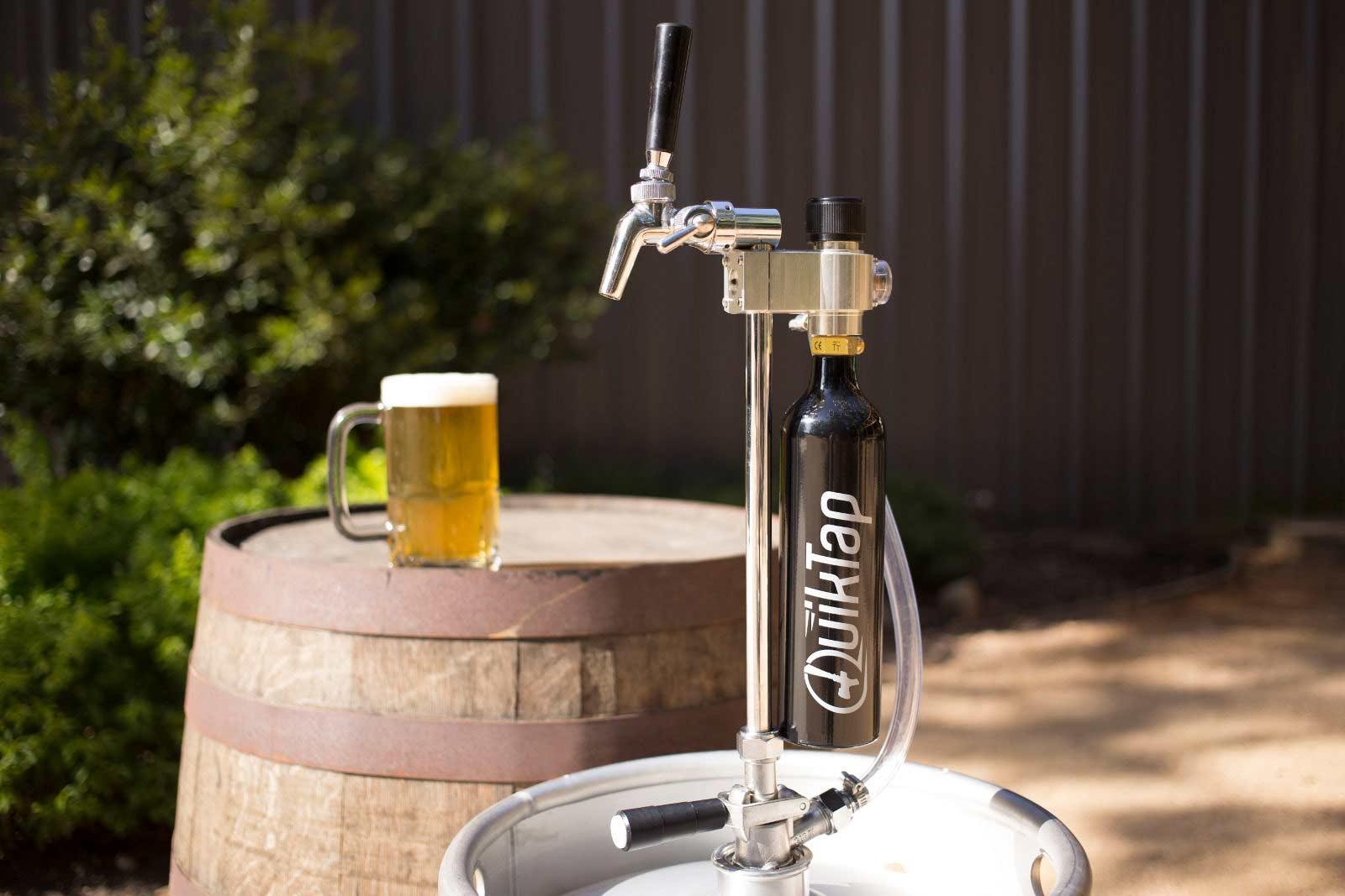 QuikTap Beer Barrel